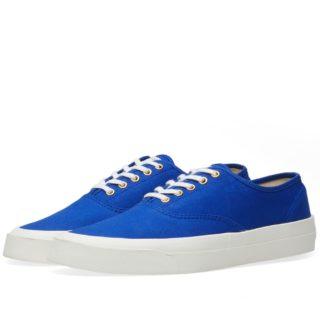 Maison Kitsuné Canvas Sneaker (Blue)
