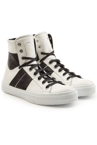 Amiri Leather High-Top Sneakers #{lastAddedProduct.name} (multicolor)