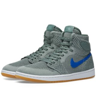 Nike Air Jordan 1 Retro High Flyknit (Grey)