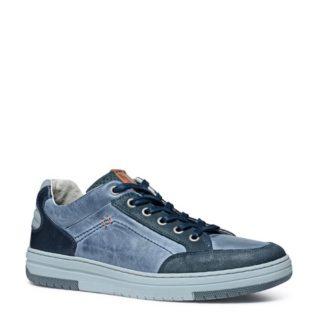 No Stress – No Stress leren sneakers (blauw)