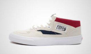 Half Cab (beige/Wit) Sneaker