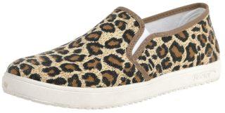 Industrial Punk Leopard Flat Sneakers luipaard