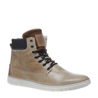 Sacha gevoerde hoge sneakers (bruin)