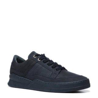 Manfield nubuck sneakers (blauw)