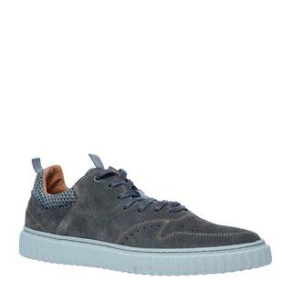 Manfield suède sneakers (grijs)
