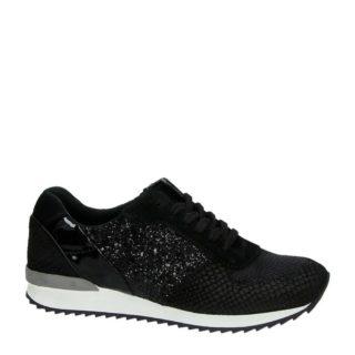 Hobb's leren sneakers (zwart)