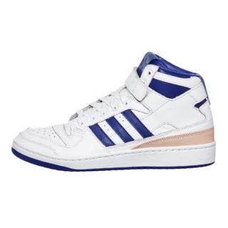 adidas Forum Mid (Wrap) (wit/blauw)