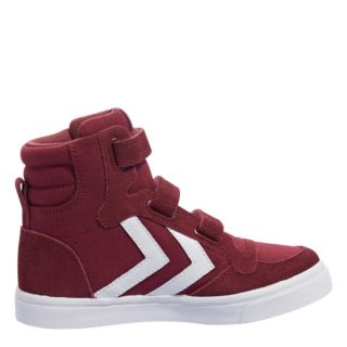 Hummel Stadil Canvas Mono High sneakers kids (rood)