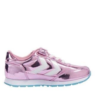 Hummel Reflex Bubblegum Jr Foxglove sneakers meisjes (roze)