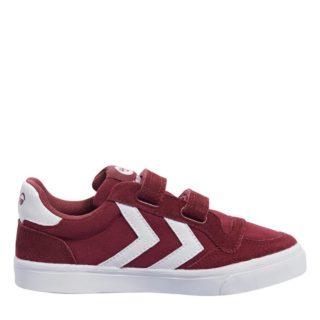 Hummel Stadil Canvas Mono Low Jr sneakers kids (rood)