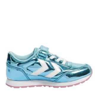 Hummel Reflex Bubblegum Jr Foxglove sneakers meisjes (blauw)