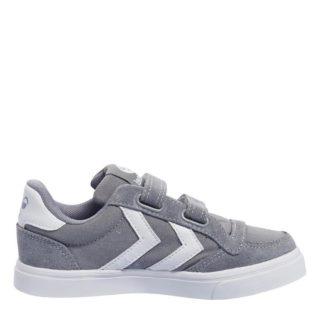Hummel Stadil Canvas Mono Low Jr sneakers kids (grijs)