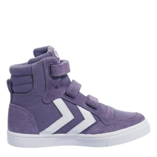 Hummel Stadil Canvas Mono High sneakers kids (paars)
