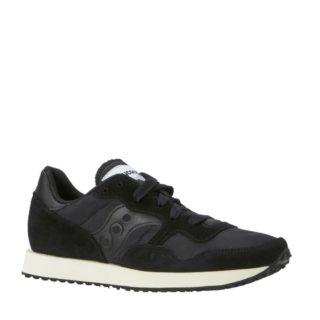 Saucony DXN Trainer Vintage sneakers (zwart)