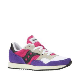 Saucony DXN Trainer Vintage sneakers (paars)