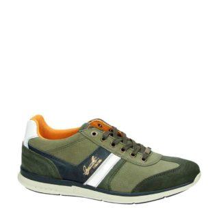 Nelson leren sneakers (groen)