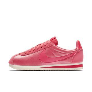 Nike Classic Cortez Nylon Damesschoen - Roze roze