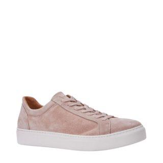 SELECTED FEMME suède sneakers (roze)