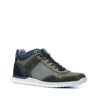 Sacha nubuck sneakers (groen)