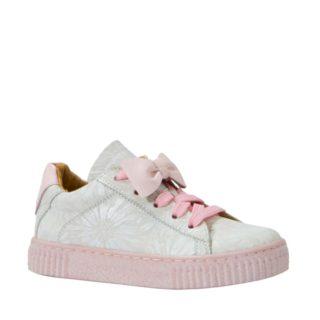 JOCHIE&FREAKS leren sneakers meisjes (roze)