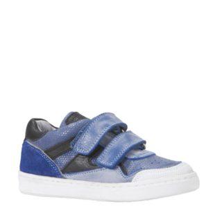JOCHIE&FREAKS leren sneakers jongens (blauw)