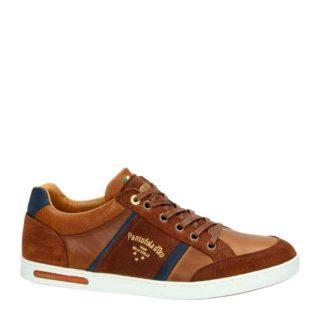 Pantofola d'Oro leren sneakers (bruin)