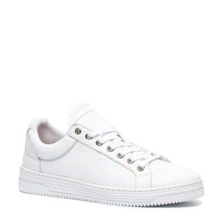 TwoDay leren sneakers (wit)