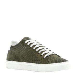 Antony Morato suéde sneakers (groen)