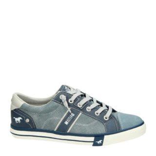 Mustang sneakers (blauw)
