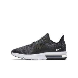 Nike Air Max Sequent 3 Hardloopschoen voor kids - Zwart zwart