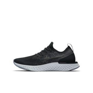 Nike Epic React Flyknit Hardloopschoen voor kids - Zwart zwart