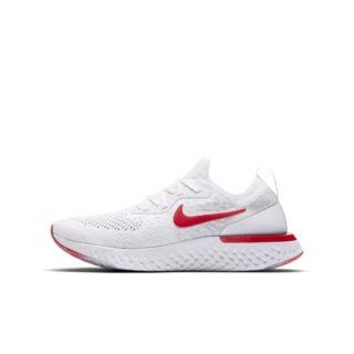 Nike Epic React Flyknit Hardloopschoen voor kids - Wit wit