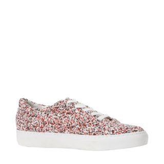 Katy Perry sneakers met spikkels (wit)