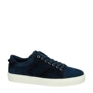 Greve suède sneakers (blauw)
