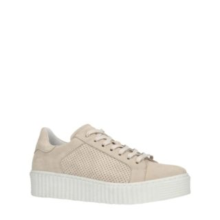 Manfield suède sneakers (bruin)