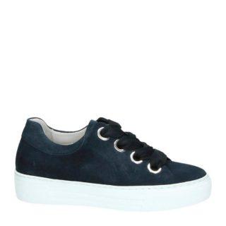 Gabor suède sneakers (blauw)