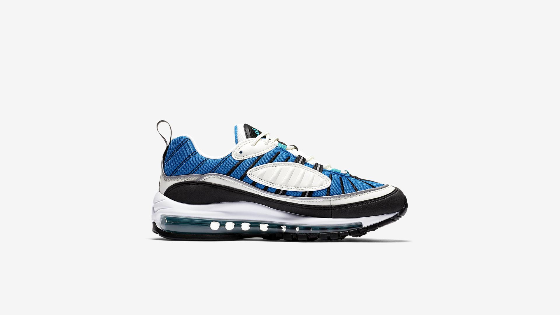 Nike Air Max 98 Blue Nebula / Radiant Emerald (AH6799-106)