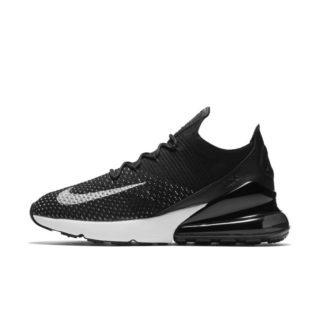 Nike Air Max 270 Flyknit Damesschoen - Zwart zwart