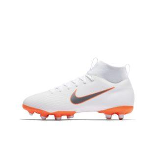Nike Jr. Superfly VI Academy MG Voetbalschoen voor kleuters/kids (meerdere ondergronden) - Wit wit