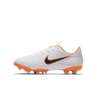 Nike Jr. Mercurial Vapor XII Academy Voetbalschoen voor kleuters/kids (meerdere ondergronden) - Wit wit