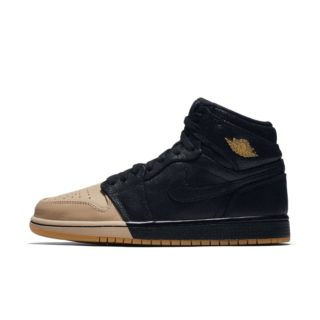 Air Jordan 1 Retro High Premium Damesschoen – Zwart zwart