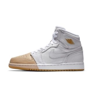 Air Jordan 1 Retro High Premium Damesschoen – Wit wit