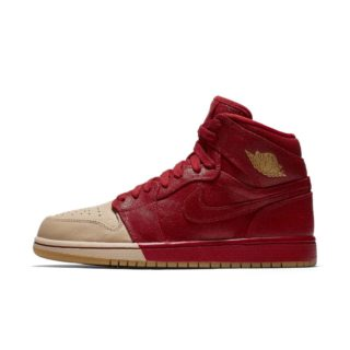 Air Jordan 1 Retro High Premium Damesschoen – Rood rood