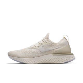 Nike Epic React Flyknit Hardloopschoen voor dames - Cream creme