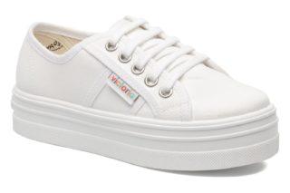 Sneakers Blucher Lona Plataforma Kids by Victoria
