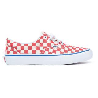 VANS Checkerboard Era Pro Schoenen (rood)