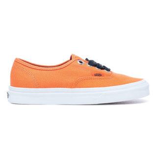 VANS Authentic Schoenen Met Oversized Veters (oranje)