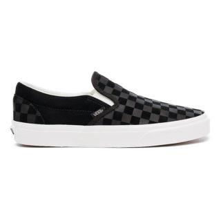 VANS Checker Emboss Classic Slip-on Schoenen (zwart)