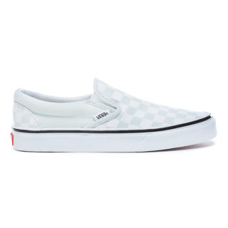 VANS Checkerboard Classic Slip-on Schoenen (groen)