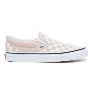 VANS Checkerboard Classic Slip-on Schoenen (roze)